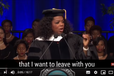 Oprah Winfrey's Life Advice – Three Things for YOU